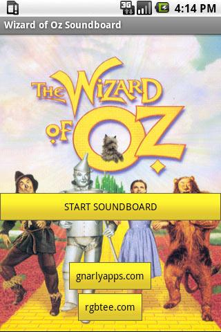 Wizard of Oz Soundboard Android Entertainment