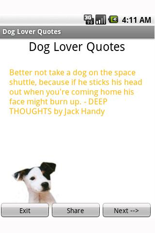 Dog Lover Quotes Android Entertainment