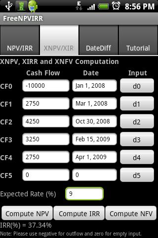 FREENPVIRR Android Finance
