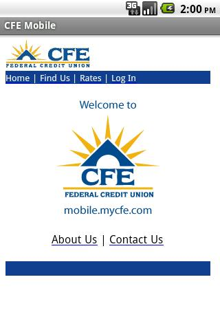 CFE Mobile Android Finance