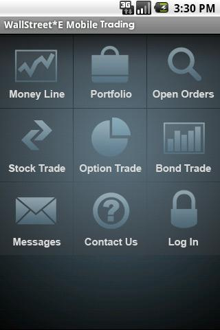 WallStreet*E Mobile Trading Android Finance
