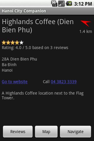 Hanoi City Companion Android Lifestyle