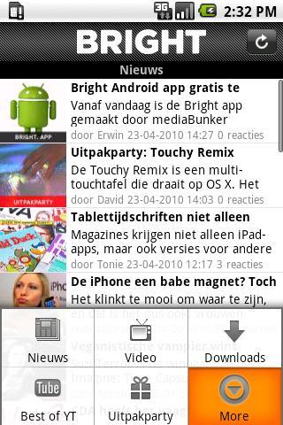 Bright Android News & Weather