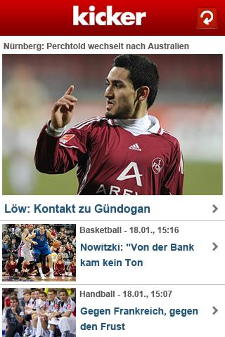 kicker online Android Sports