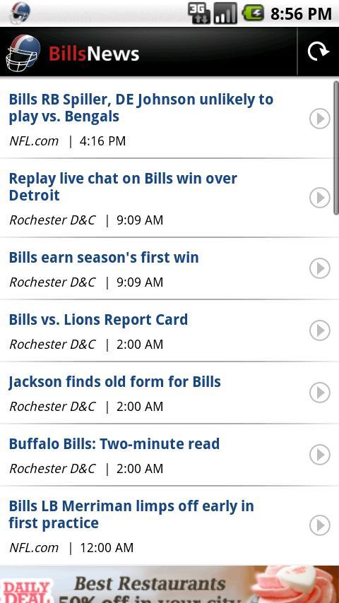 Bills News Android Sports