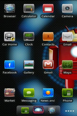 Iron Man ADW Theme Android Themes best android apps free