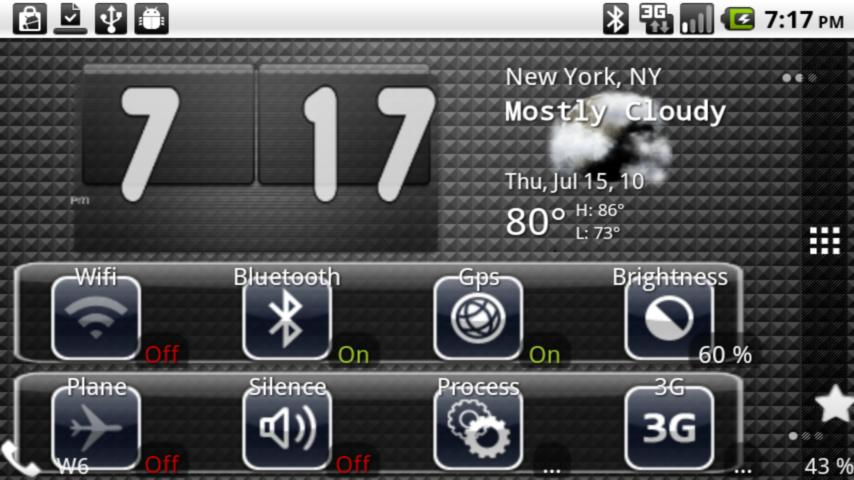 Black Ipad Toggle Android Themes