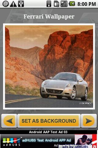 Wallpaper Ferrari Car Gallery Android Personalization