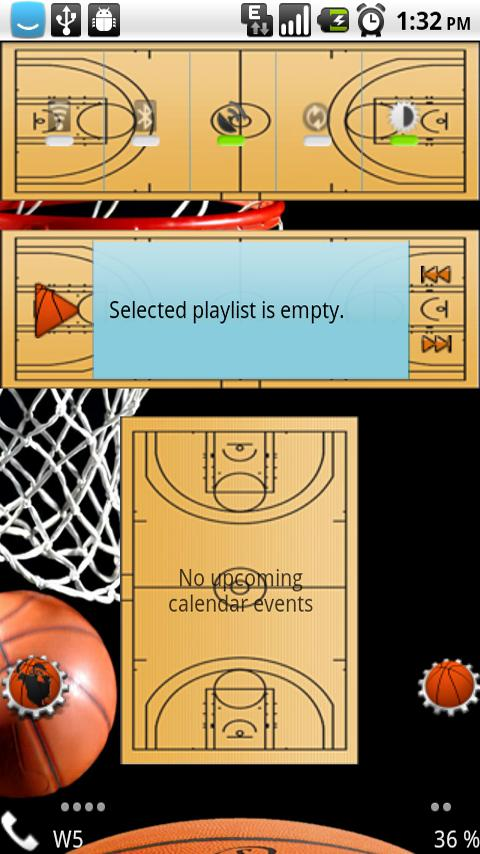 HD Theme: Basketball World Android Themes