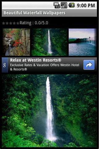 Beautiful Waterfall Wallpapers Android Themes