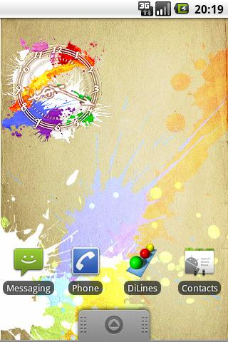 Water Clock Android Themes