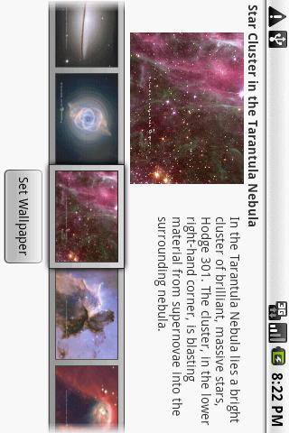 Hubble Wallpaper Android Themes