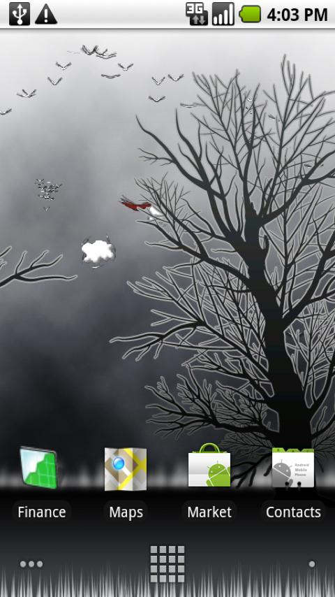 Winter Flock Live Wallpaper Android Themes