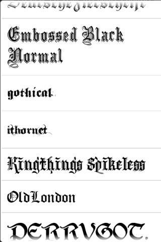 Font Pack – Medieval Android Personalization