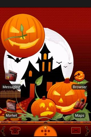 Halloween Night Theme Android Themes