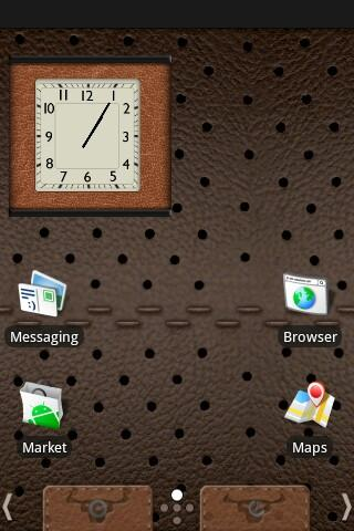 Leather Theme Android Themes