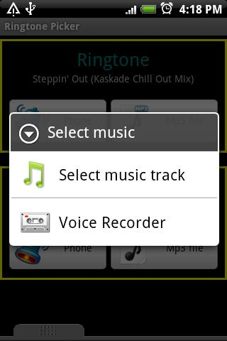Volume Ringtone Picker-Manager Android Tools