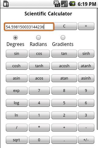 Scientific Calculator Pro Android Tools