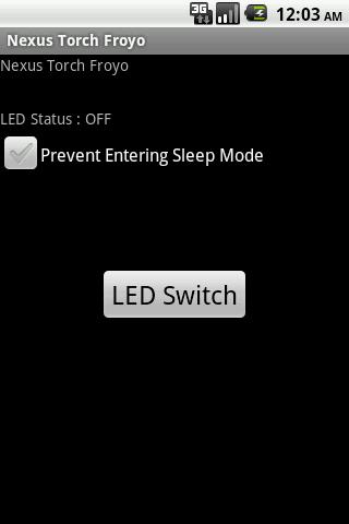 Nexus Torch/Flashlight Froyo Android Tools
