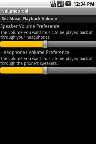 VolumeDroid Android Tools