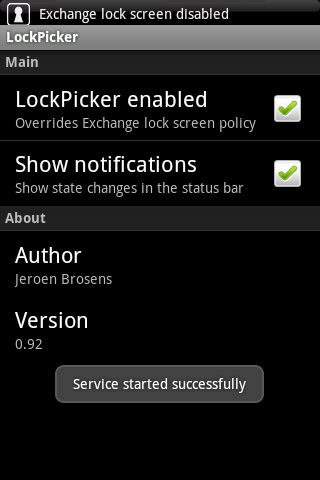 LockPicker (ad supported) Android Tools