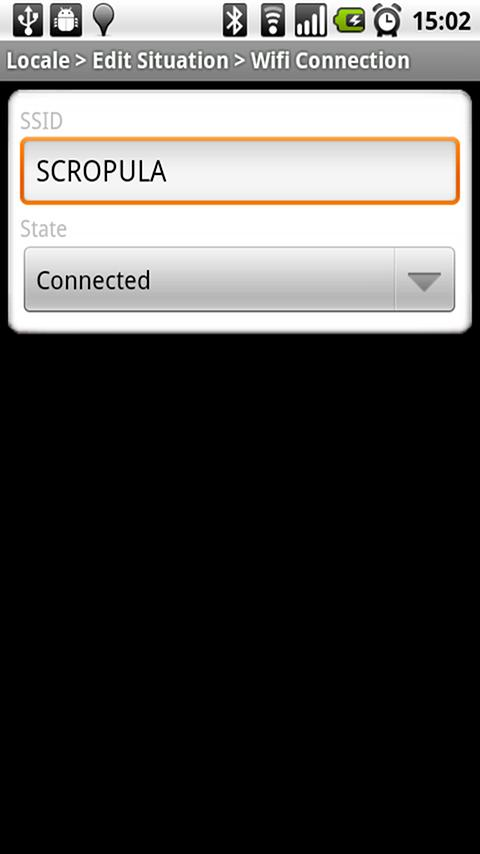 Locale Wifi Connection Plugin Android Tools
