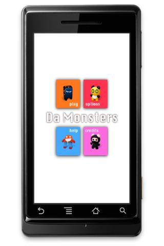 Da Monsters Android Brain & Puzzle
