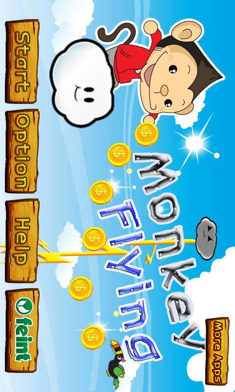 Monkey Flying Free Android Arcade & Action