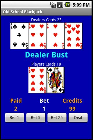 Free Old School BlackJack Android Cards & Casino