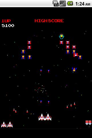 Galaga Android Arcade & Action