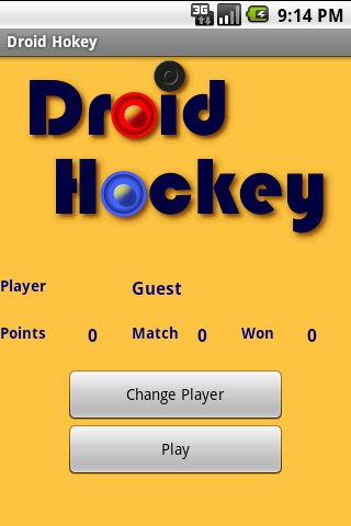 Droid Hockey Android Sports Games