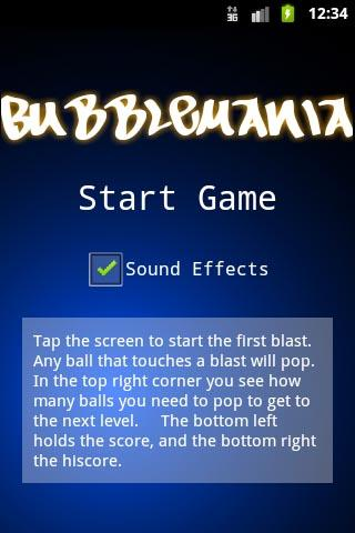 BubbleMania Free Android Brain & Puzzle