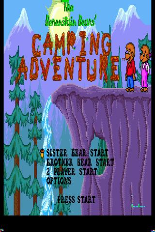 Berenstain Bears, The – Campin Android Arcade & Action