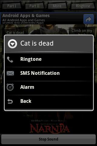 Ringtone: Narniа Android Brain & Puzzle