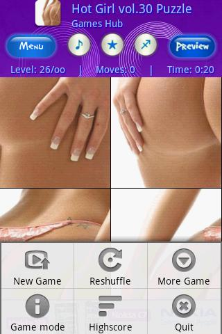 Hot girls vol 30 Swap Puzzle Android Brain & Puzzle