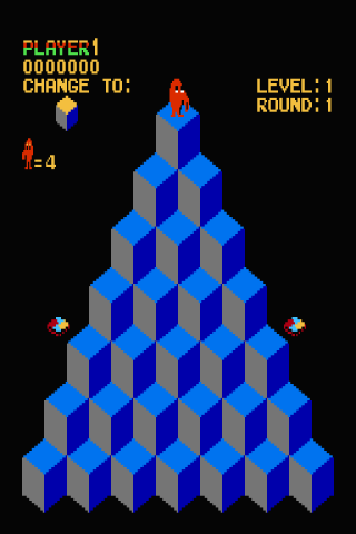 Q-bert (USA) Android Brain & Puzzle
