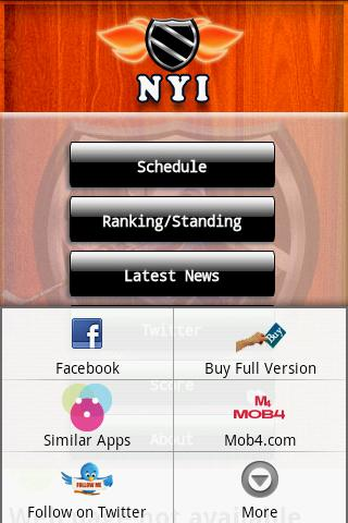 NHL_ISLANDERS Android Casual