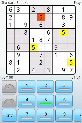 Super Sudoku Android Brain & Puzzle
