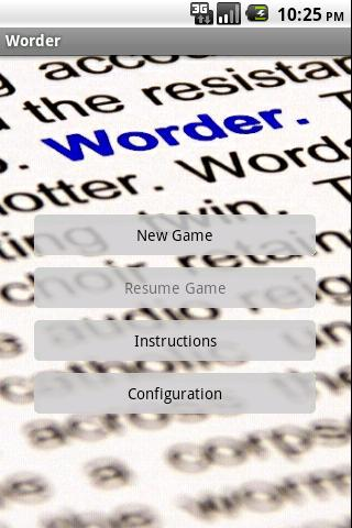 Worder Android Brain & Puzzle