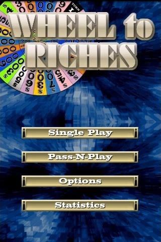 Wheel to Riches Android Brain & Puzzle