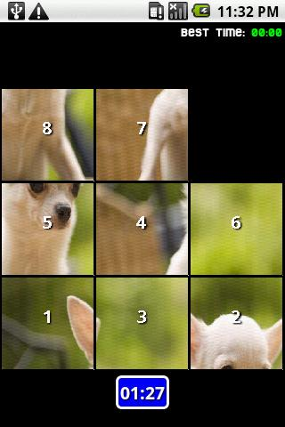 Dogs Slide Puzzle Android Brain & Puzzle