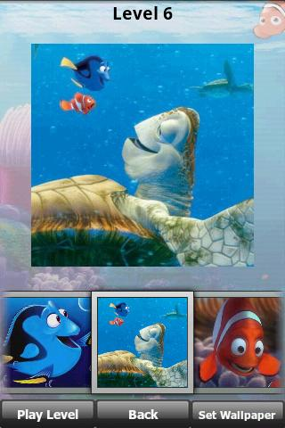 Finding Nemo Puzzle : JigSaw Android Brain & Puzzle