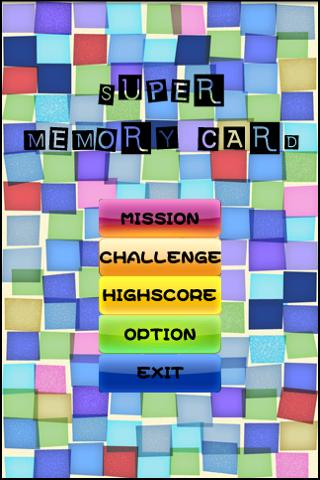 Super Memory Card Android Casual