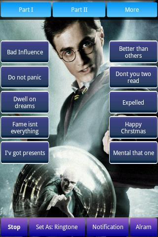 Harry Potter Soundboard Android Brain & Puzzle