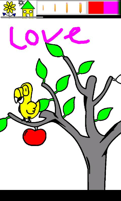 Kid Paint Coloring (for tablet Android Education