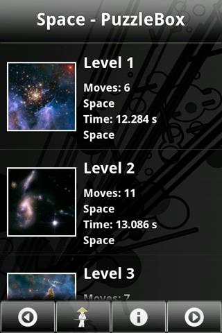 Space – PuzzleBox Android Brain & Puzzle