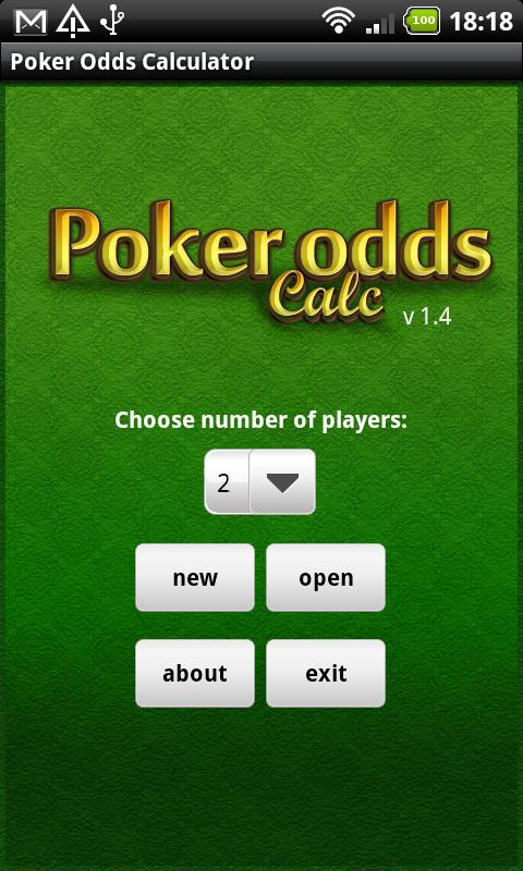 Poker Odds Calculator Android Cards & Casino