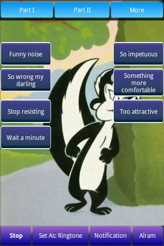 Pepe Le Pew Ringtones Android Cards & Casino