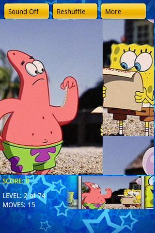 SρongeB0b Cartoon Puzzle Android Brain & Puzzle