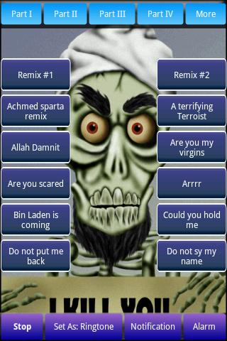 Achmed Sounds & Ringtones Android Arcade & Action